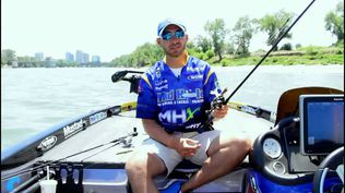 Watch as Bassmaster Elite Series Pro discusses how Winn Grips has improved his fishing in hot weather.