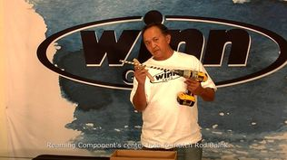 Step-by-step instructions on how to install Winn Grips on your fishing rod.